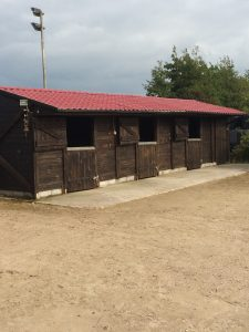 Out Side Timber Stables